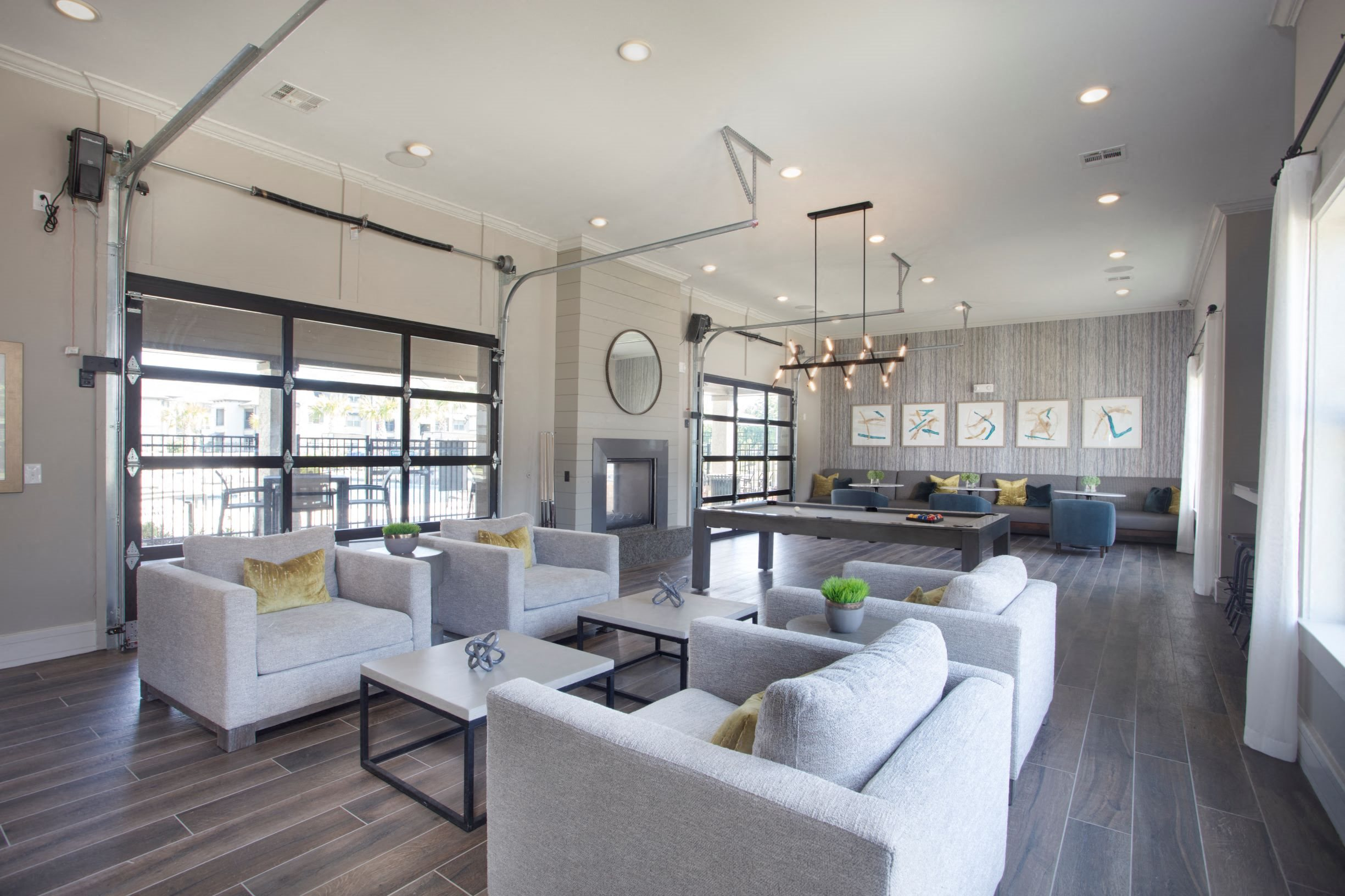 Resident Lounge at Legacy at 2020