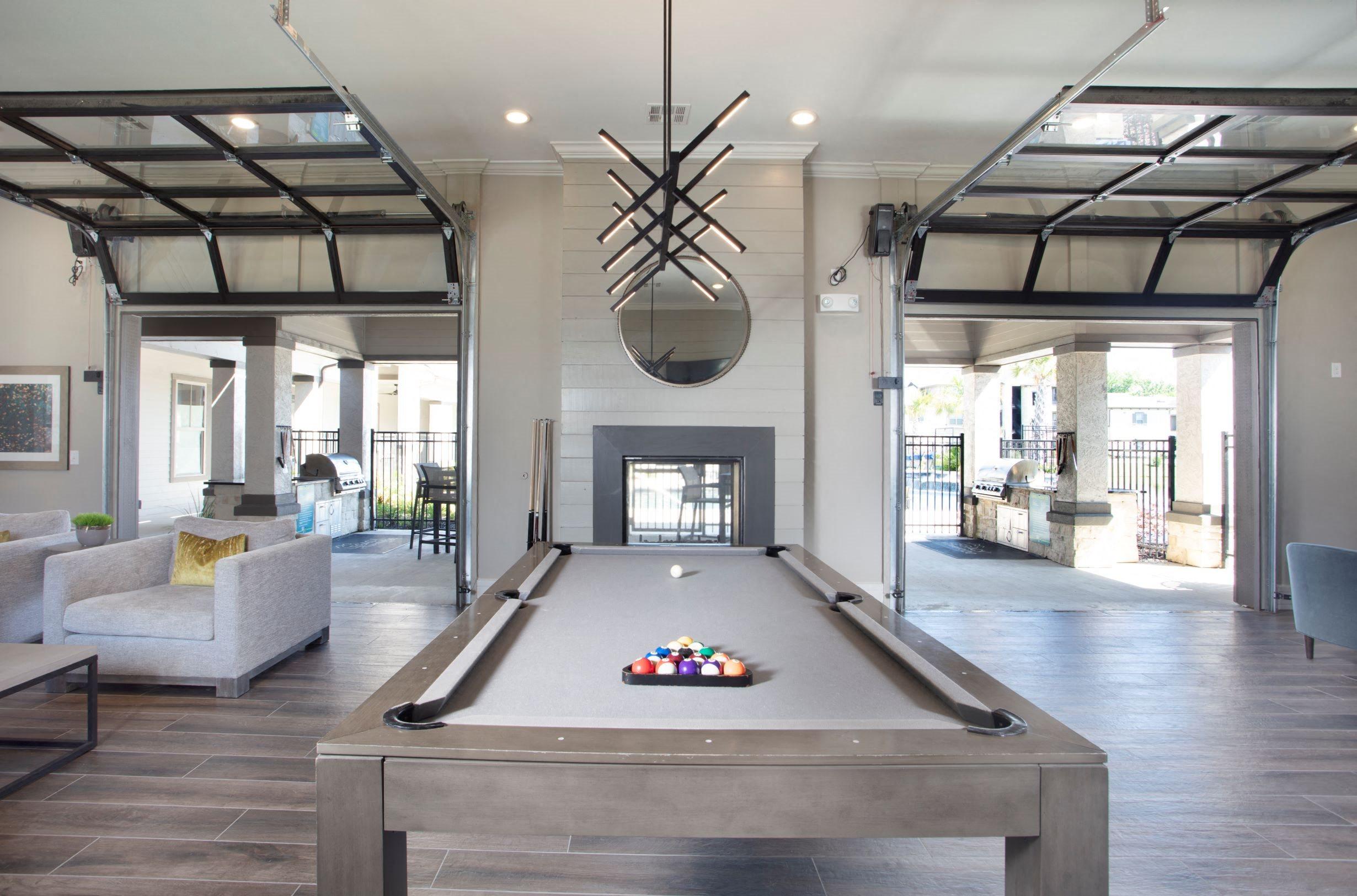 Billiards Room at Legacy at 2020