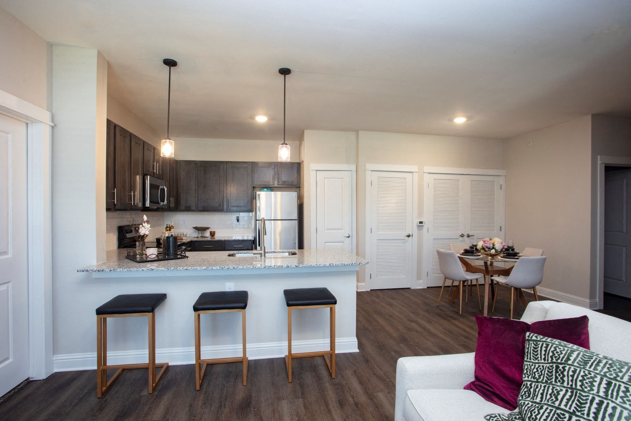 Kitchen and Dining Room at Legacy at 2020