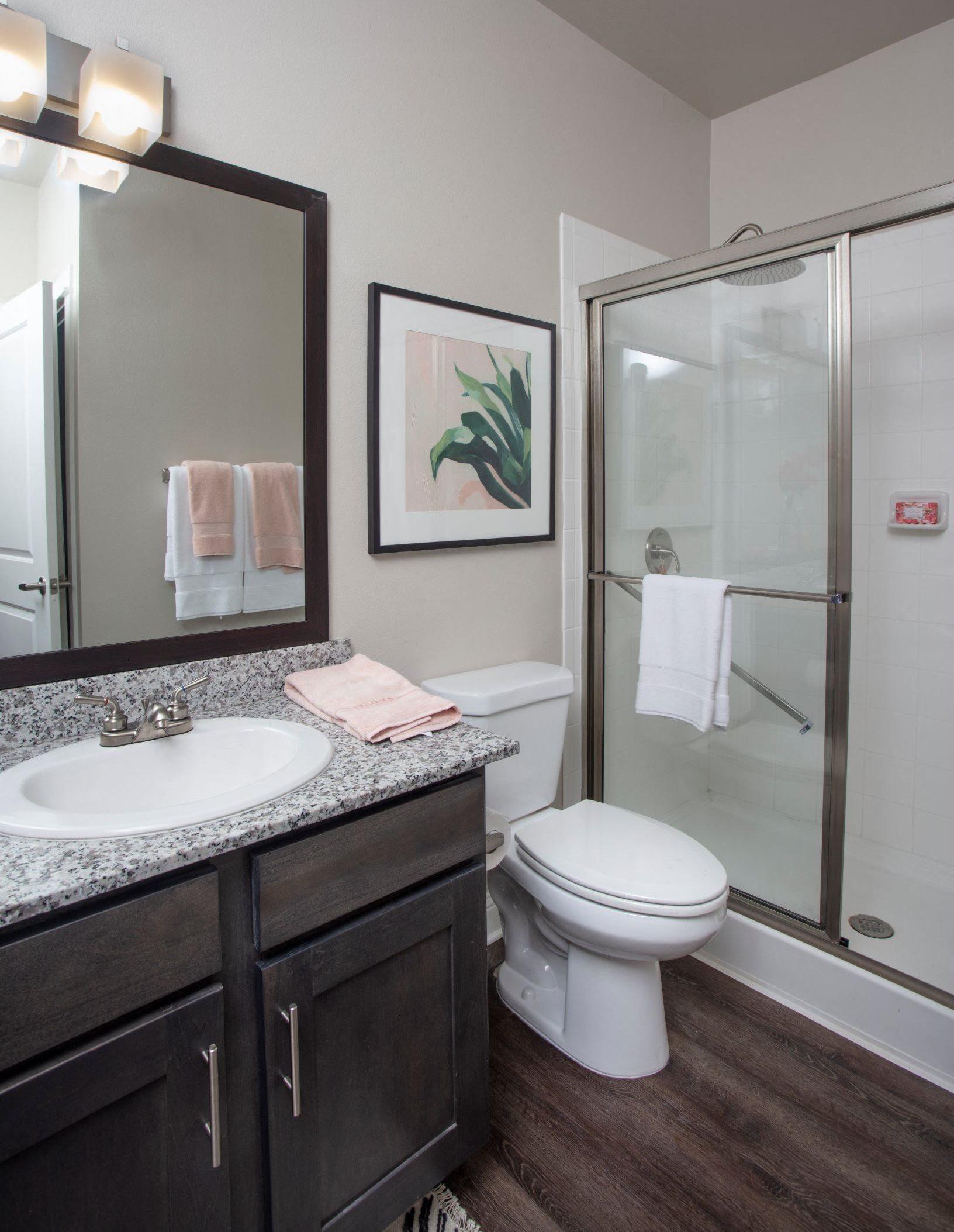 Bathroom at Legacy at 2020