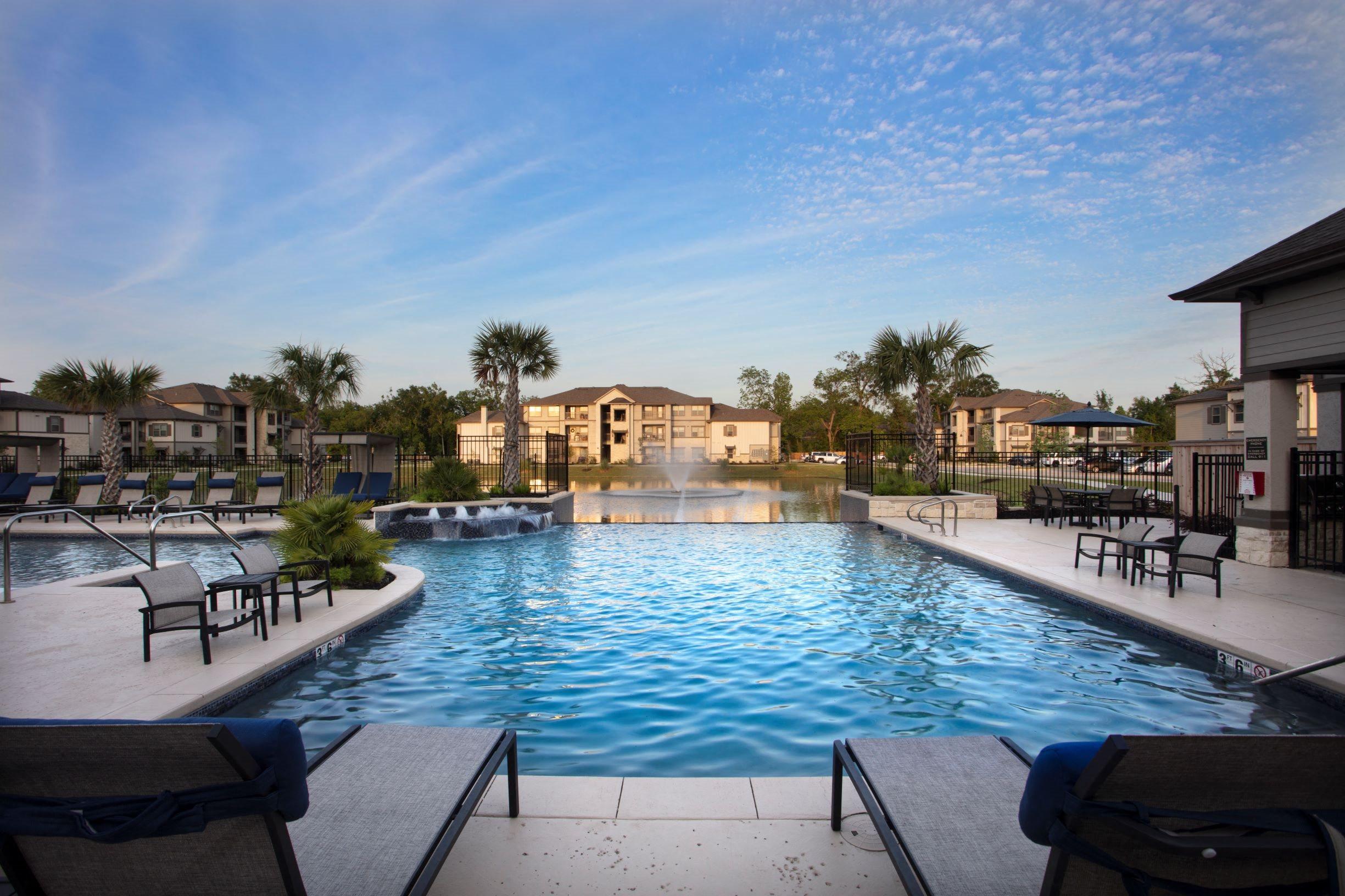 Sparkling Swimming Pool at Legacy at 2020