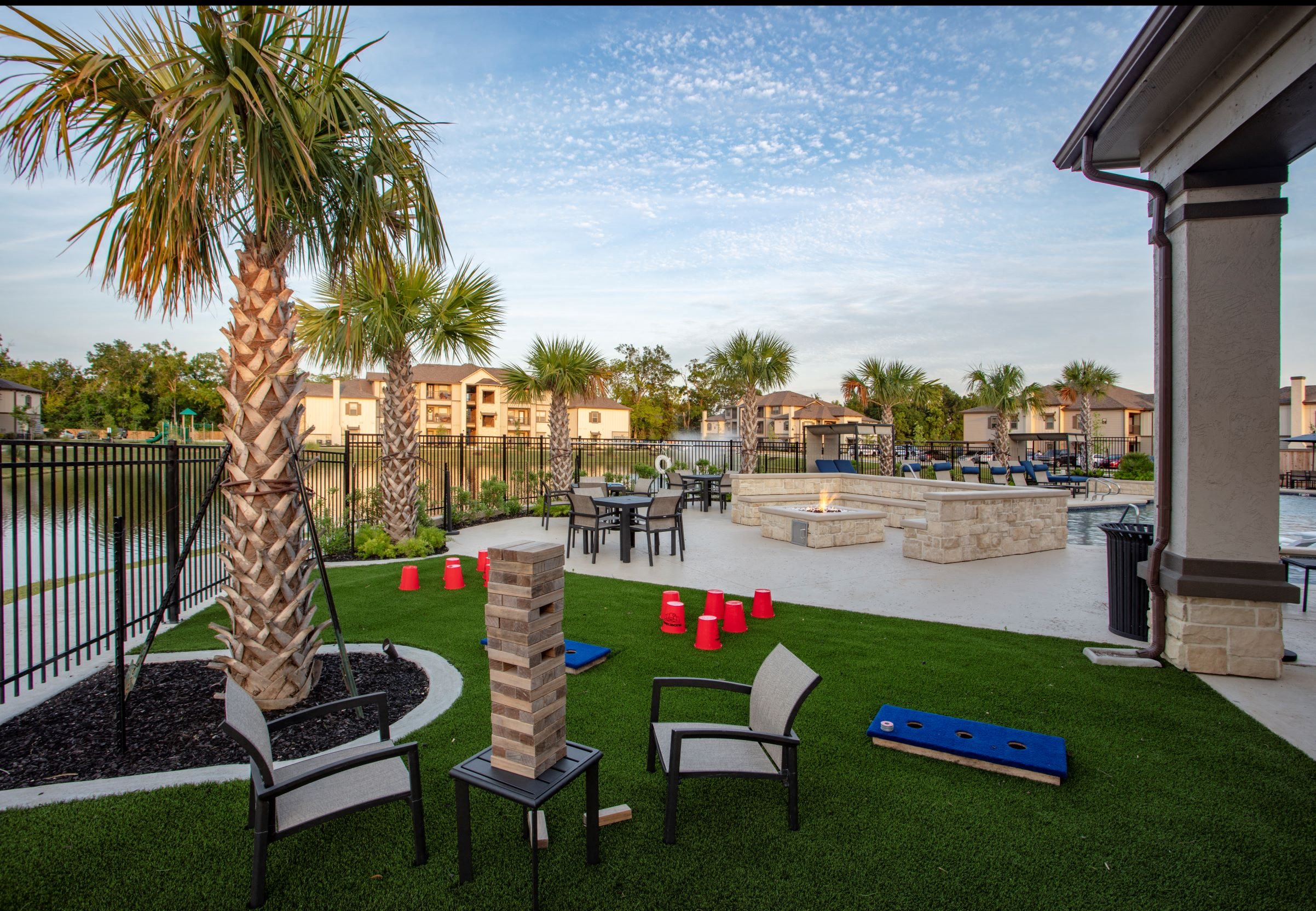 Outdoor Lounge at Legacy at 2020