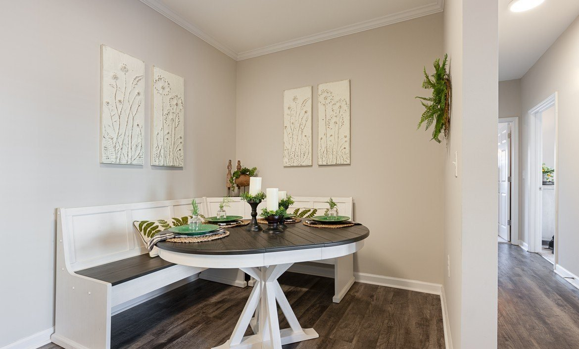 Dining room area at The Summit on 401 in Fayetteville, NC