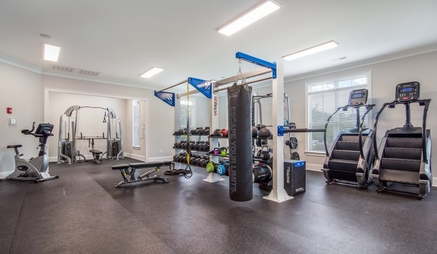 Fitness Center at West End at Fayetteville in Fayetteville, NC