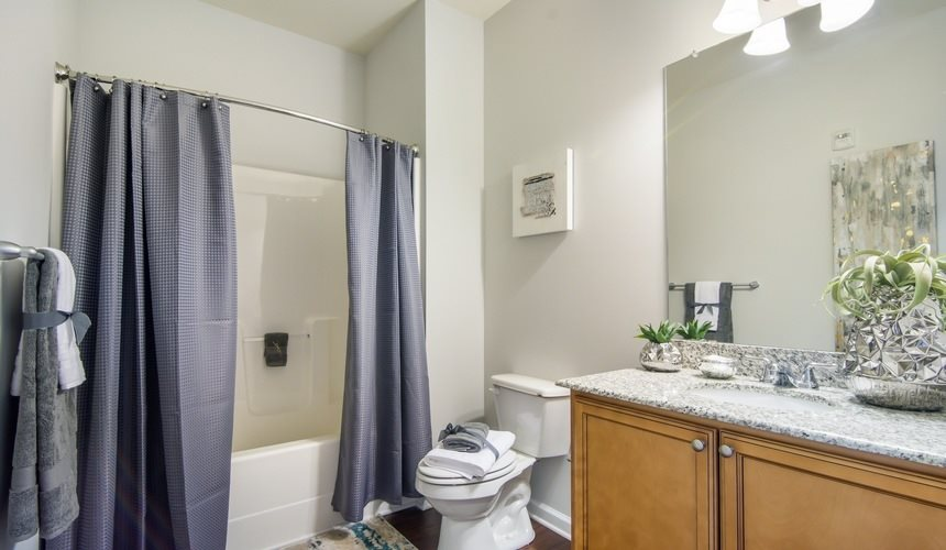 Spacious Bathroom at West End at Fayetteville in Fayetteville, NC