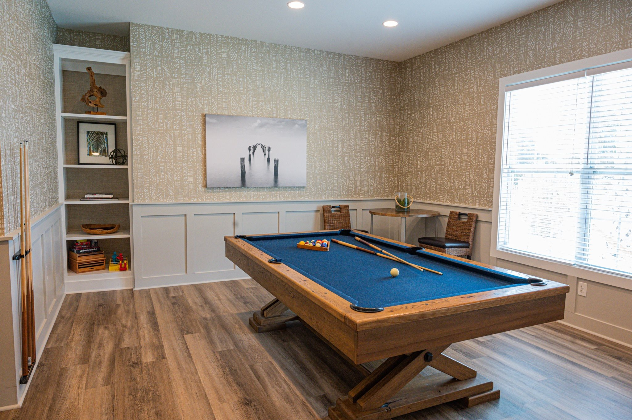 Billiards Table at Stephens Pointe Apartments in Wilmington, NC