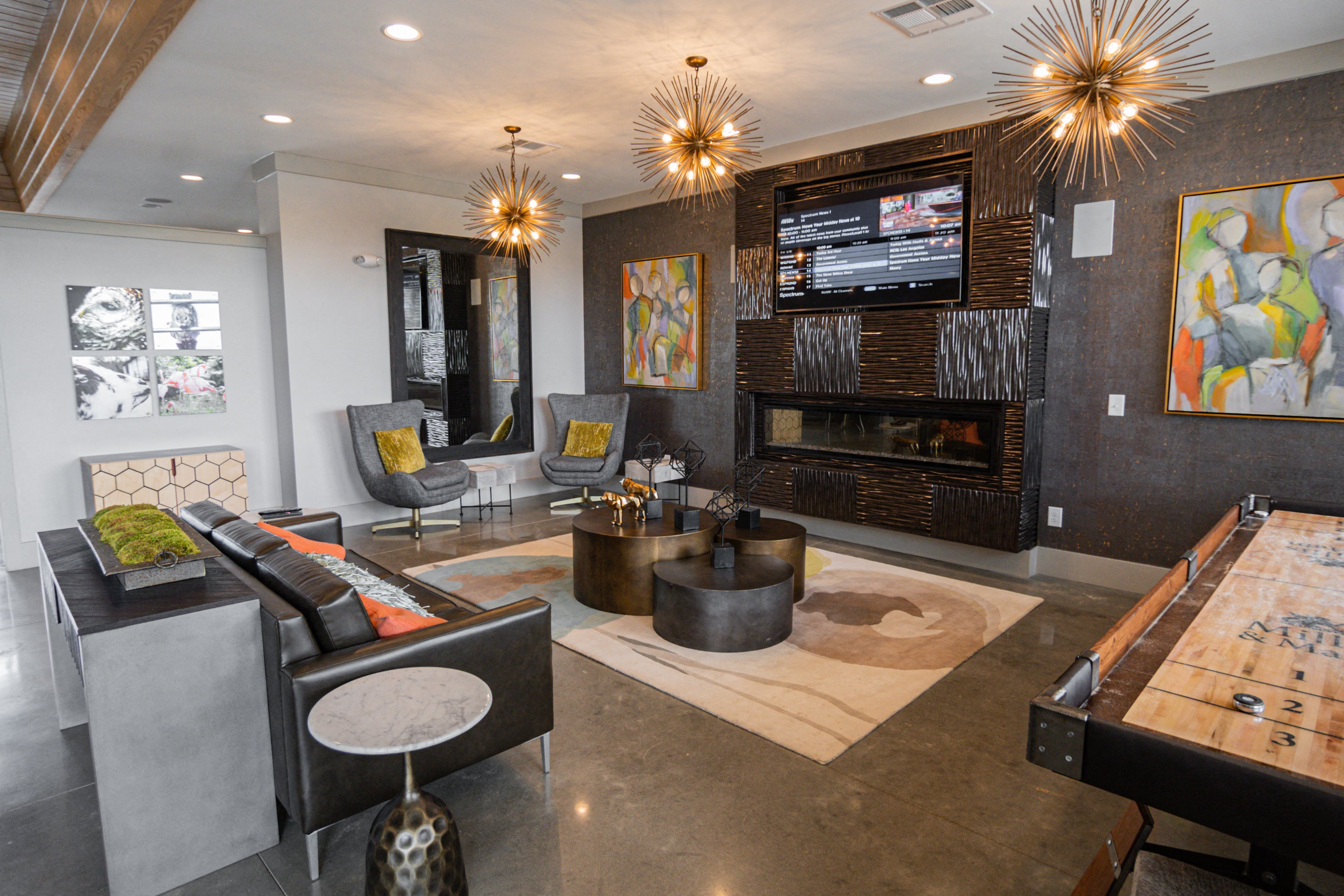 Luxurious clubhouse at Millis and Main at Grandover