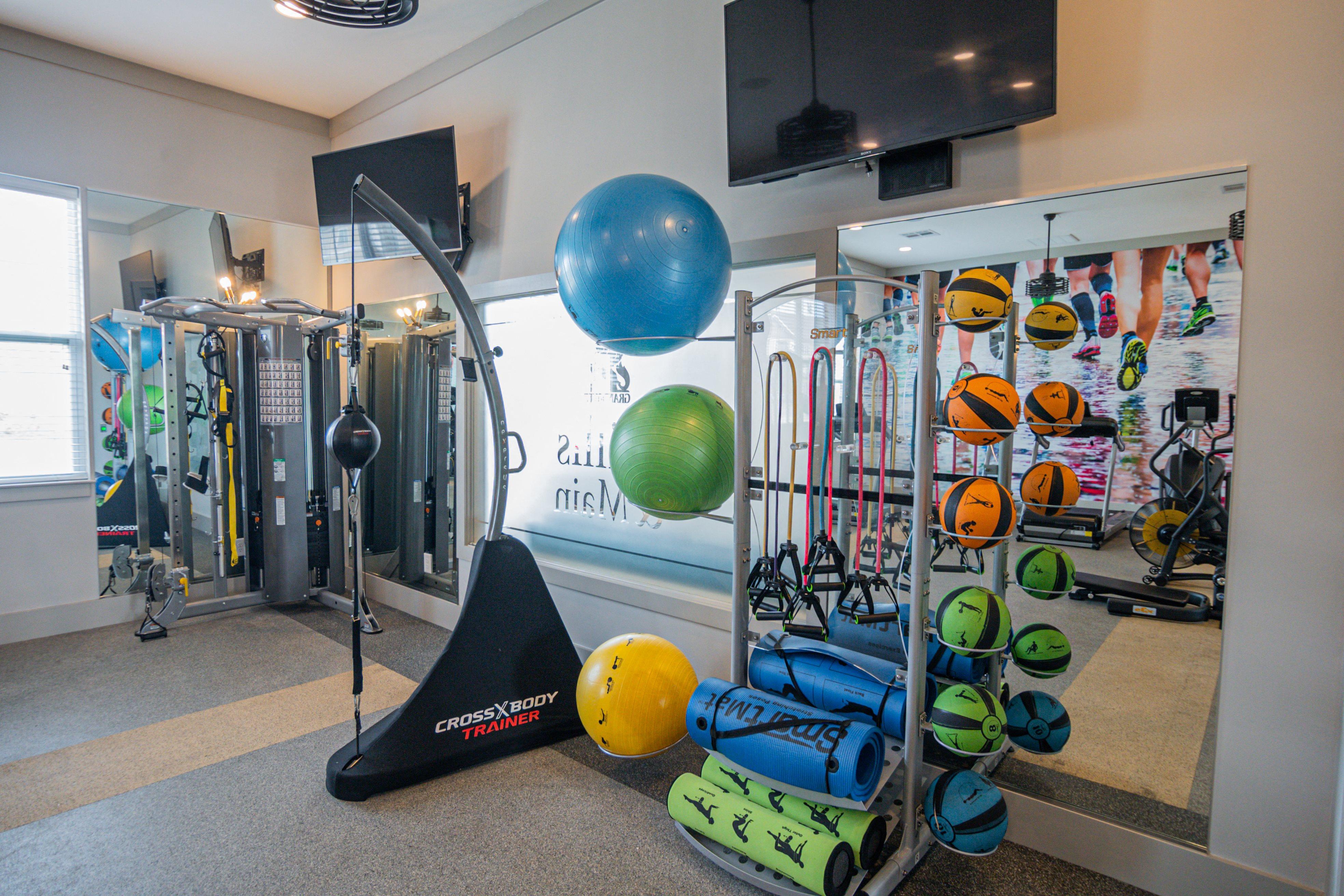 Health hub at Millis and Main at Grandover
