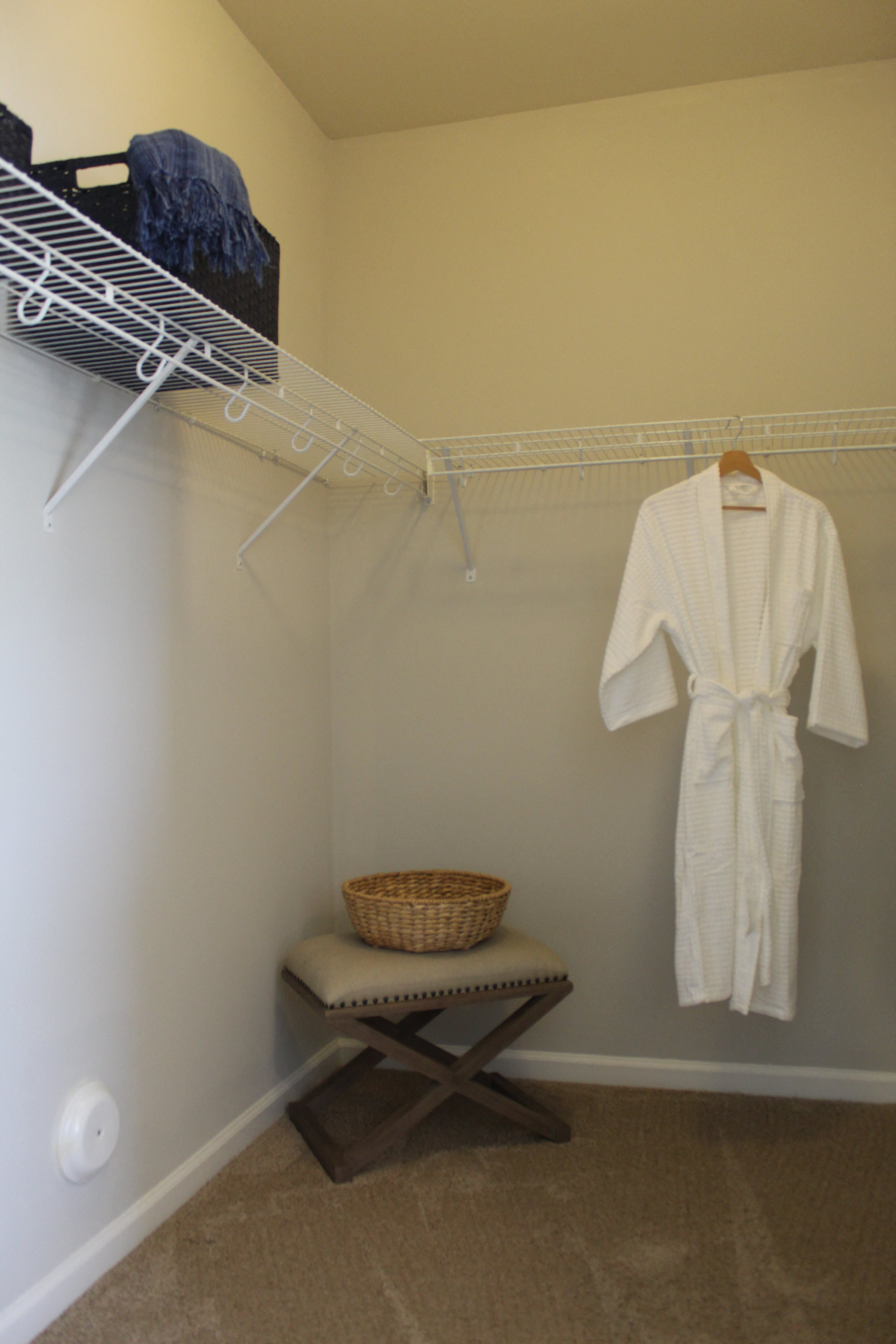 Walk-in Closets at West End at Fayetteville