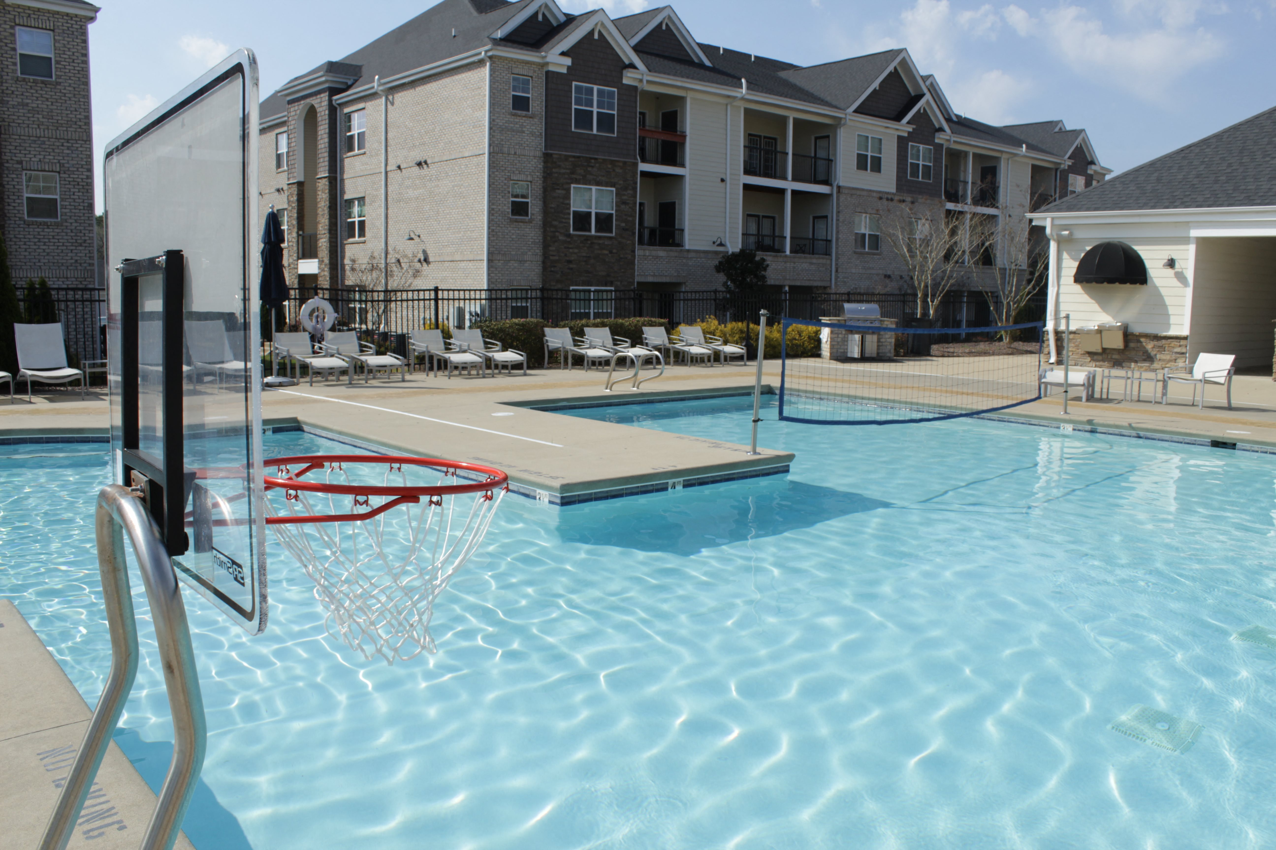 West End at Fayetteville's Sparkling Swimming Pool