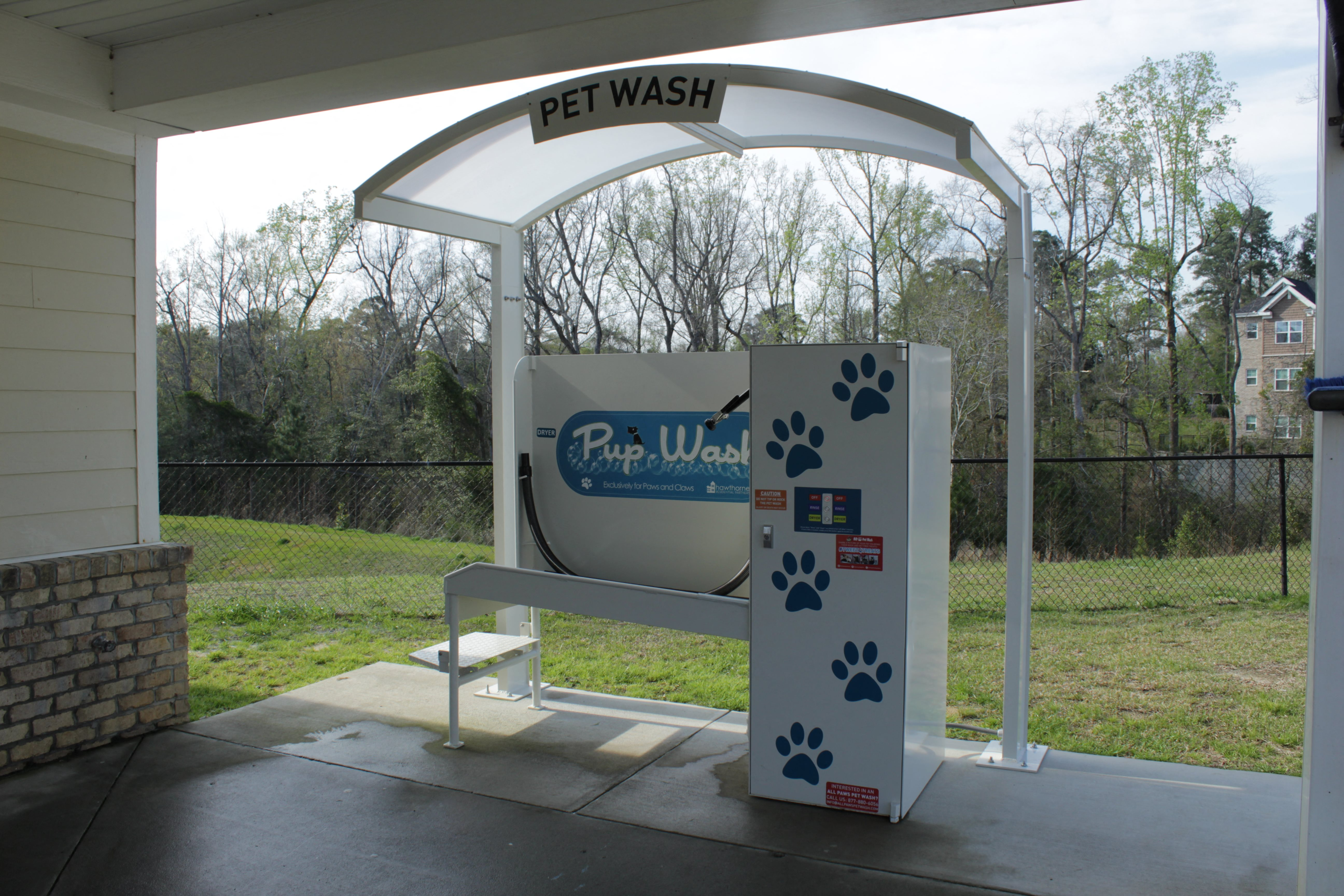 West End at Fayetteville Pup Wash