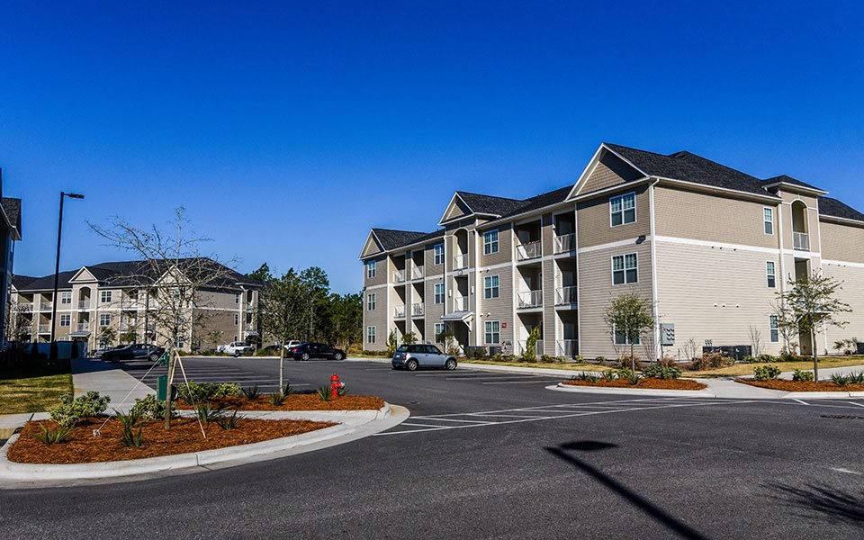 External Apartment View at Stephens Pointe, Wilmington, NC