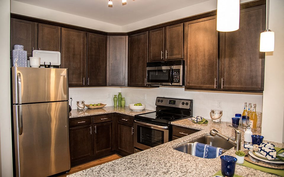 Kitchen at Stephens Pointe, Wilmington, North Carolina