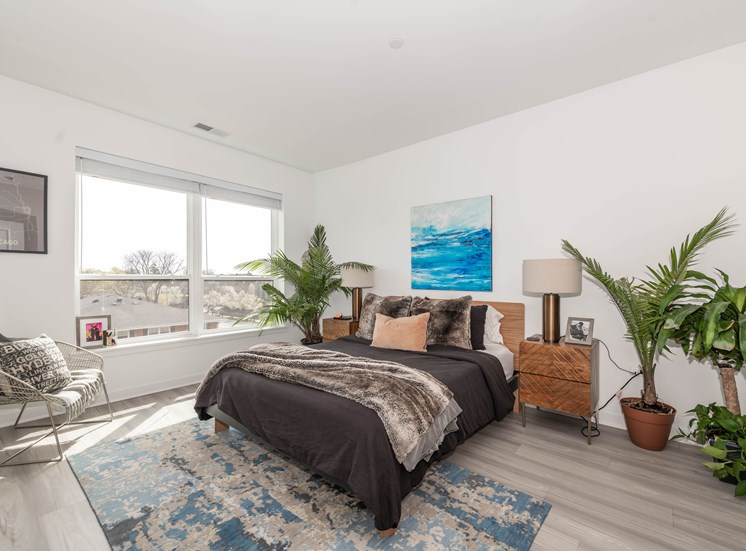 Spacious Bedrooms with Walk-in Closet and EnSuite Bath