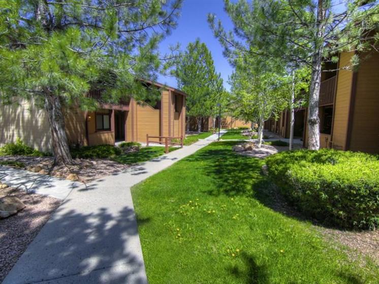 Beautiful Landscaping  at Butterfield Apartments, Flagstaff, AZ,86004