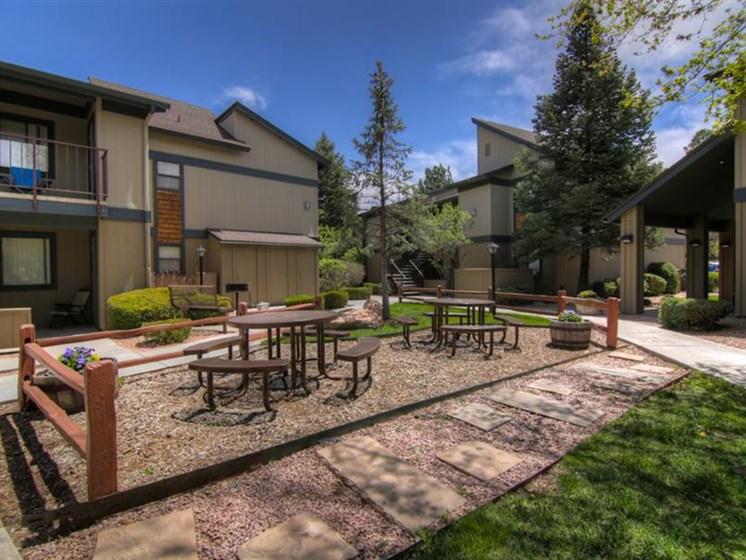 Park-like Setting at University Square Apartments, Flagstaff, Arizona
