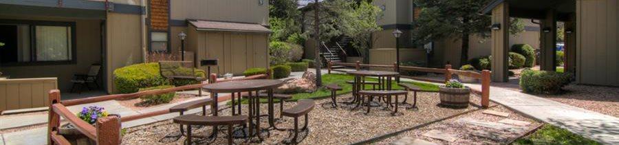 Park-like Setting at University Square Apartments, Flagstaff, AZ,86001