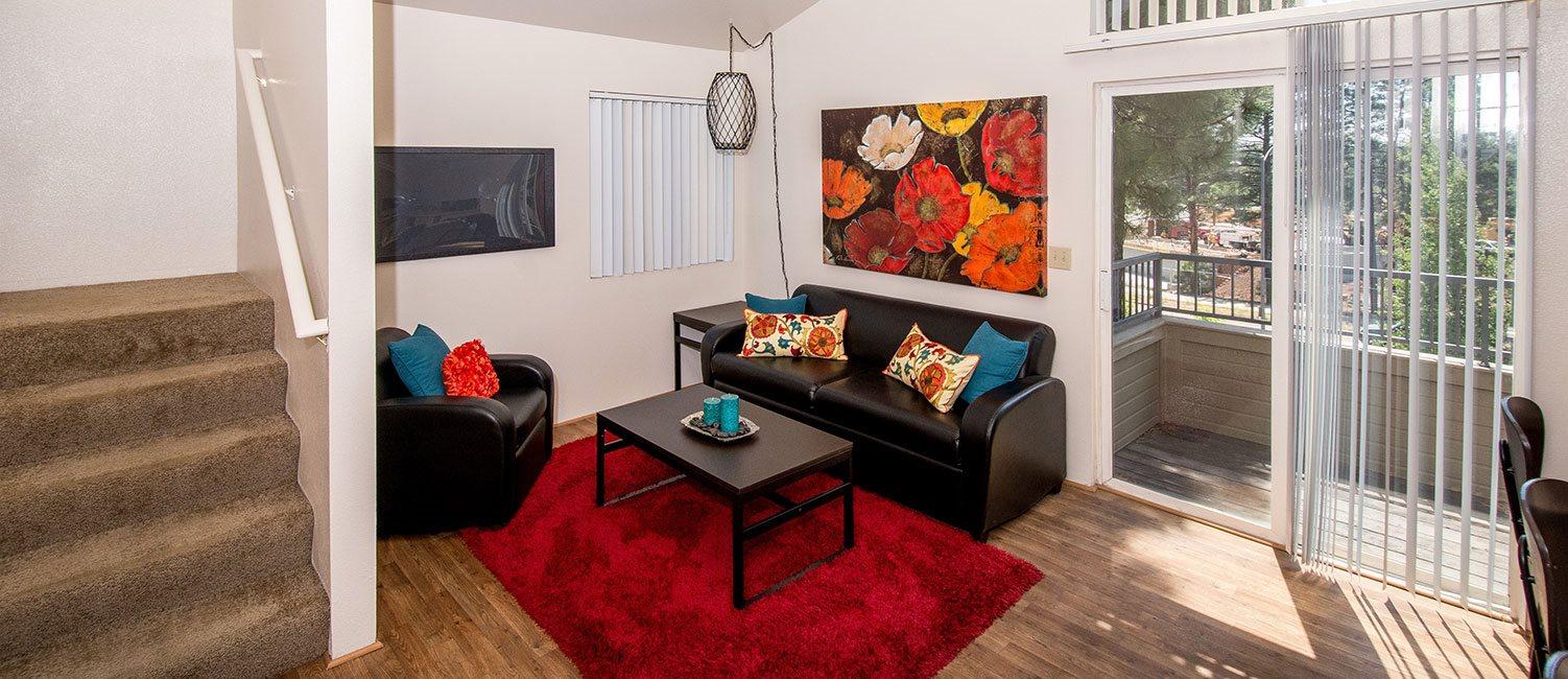 Private Apartment Balcony at Flagstaff Apartment,Flagstaff,AZ 86003