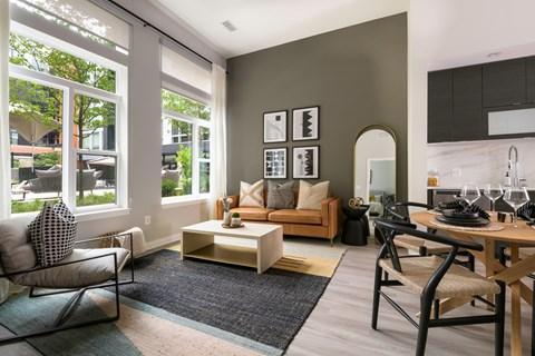 Arrowwood Apartments, North Bethesda, Maryland Living Room