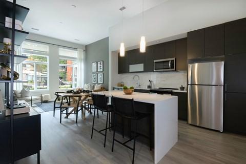 Arrowwood Apartments, North Bethesda, Maryland Kitchen