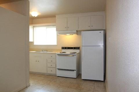 Carmichael Apartments Kitchen