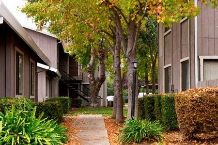 Courtyard Cottages Breezeway