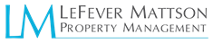 LEFEVER MATTSON PROPERTY MANAGEMENT Logo 1