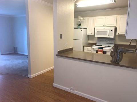 Waters Edge Apartment Interior Kitchen