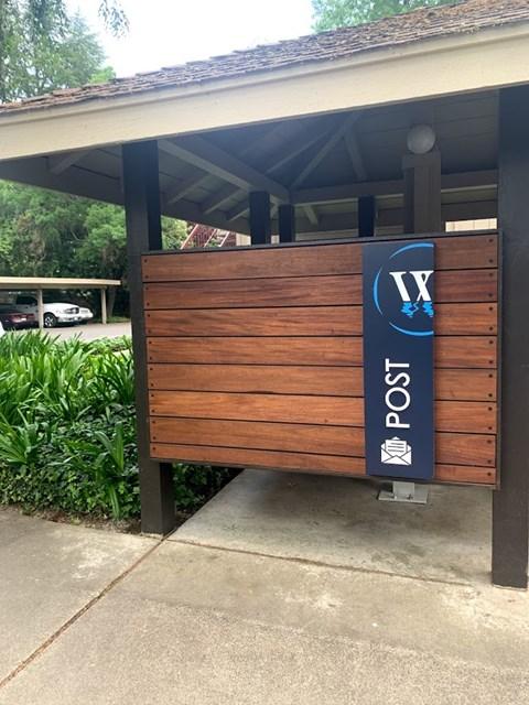 Waters Edge Apartment Mailbox Enclosure