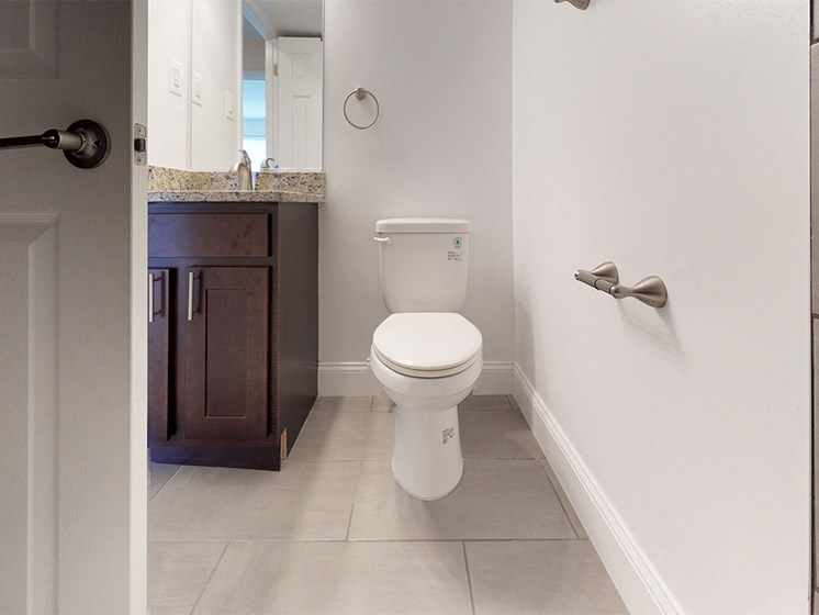 view of toilet in unit at Rose Hill Apartments, Alexandria, 22310
