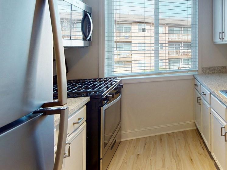 Enhanced Kitchen at Rose Hill Apartments, Alexandria