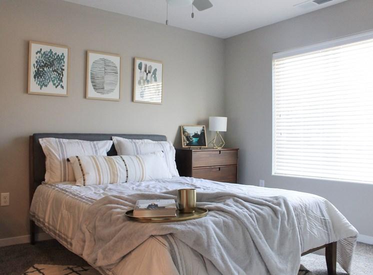 Victory Village Bedroom Art Tray Blanket