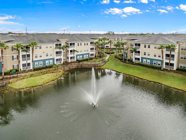 Resort Inspired Living Spaces at Savannah at Park Central, Orlando
