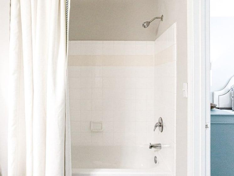 Brodick Hills 2 bedroom model bathroom shower view