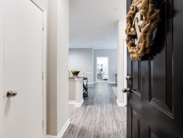 Brodick Hills 2 Bedroom Model Entrance