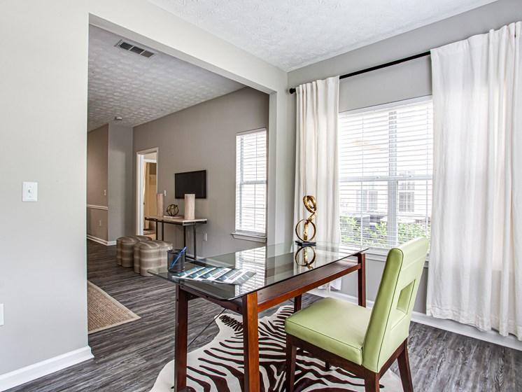 Brodick Hills 2 bedroom model sunroom with window