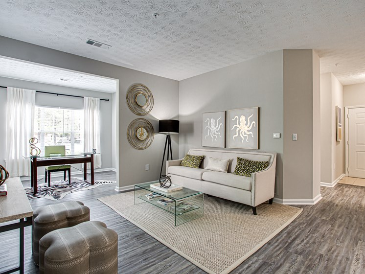 Brodick Hills 2 bedroom model living room
