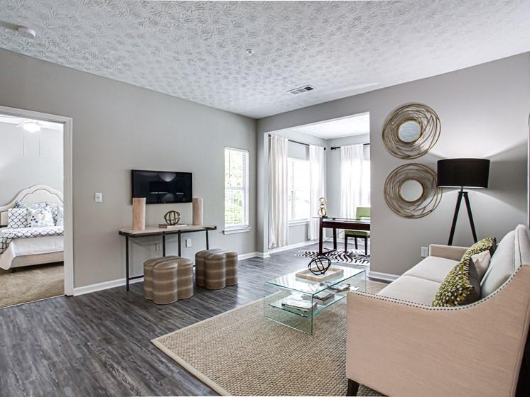 Brodick Hills 2 bedroom model living room angle
