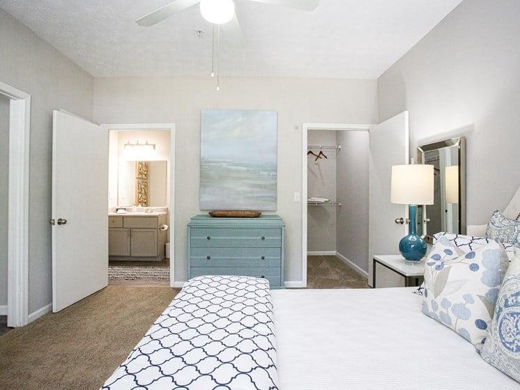 Brodick Hills 2 bedroom model bedroom door view
