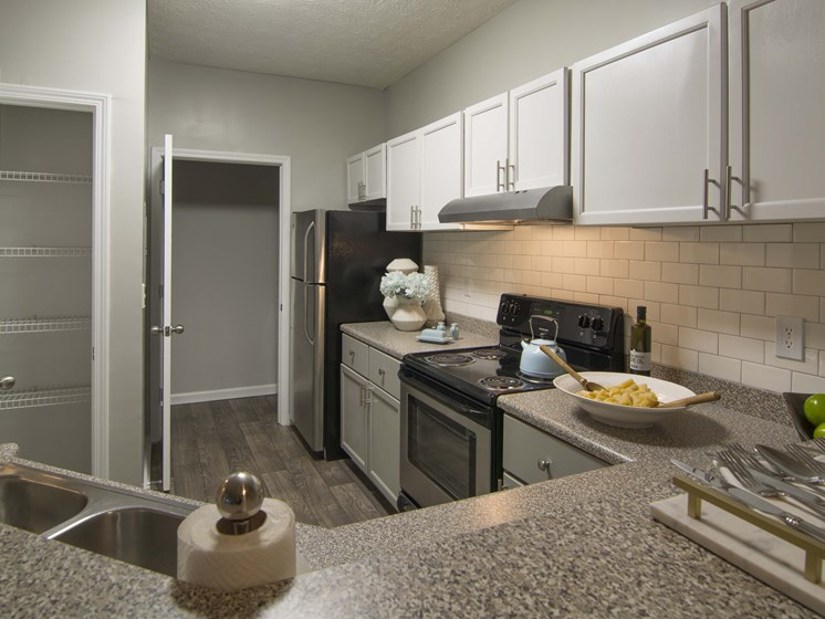 Brodick Hill Open Concept Kitchen