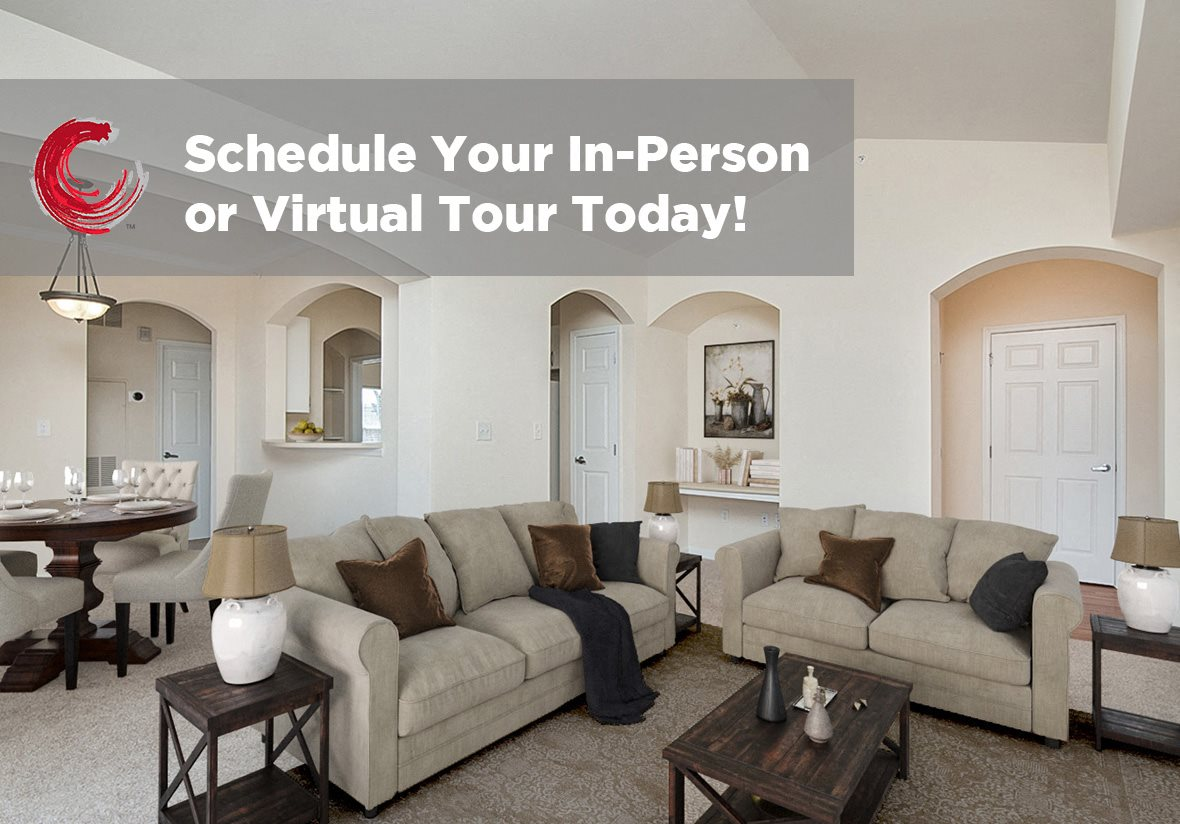 Modern Living Room at Century Clearbrook, Frederick, 21703