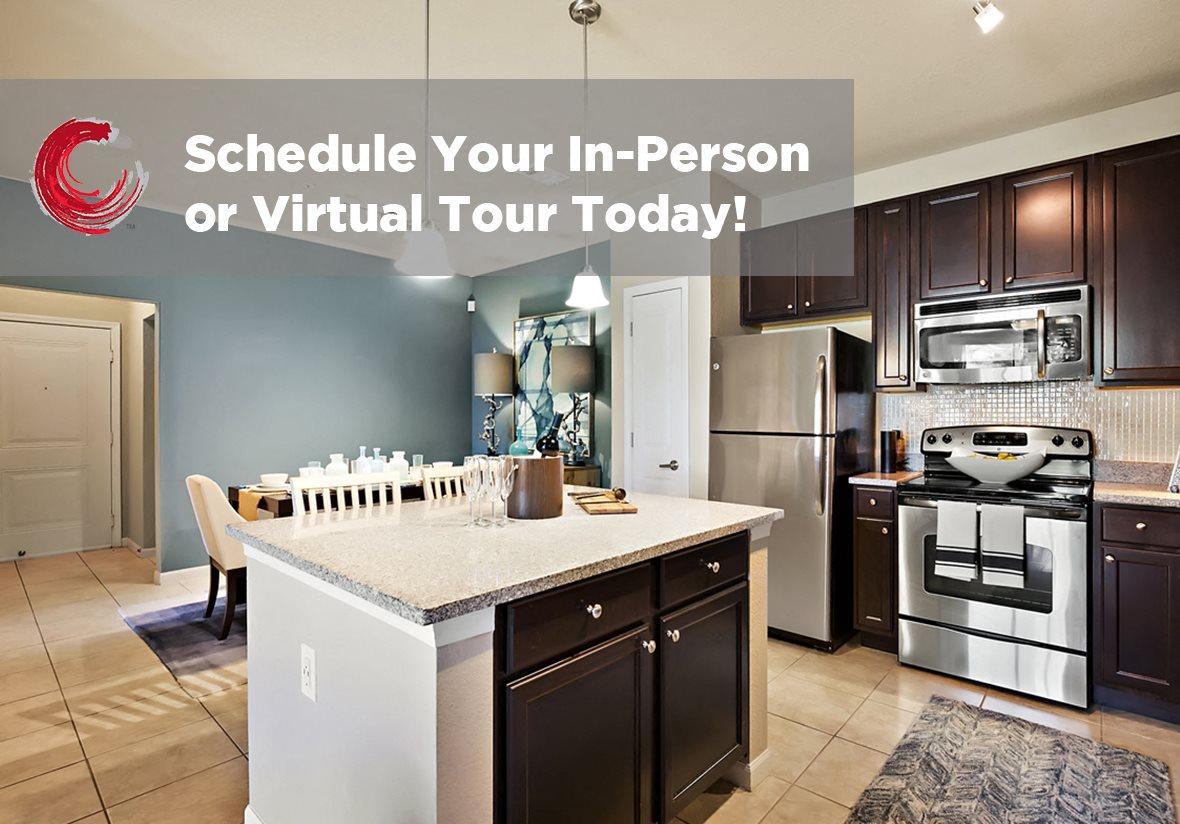 Kitchen Unit at Century Crosstown, Tampa, Florida