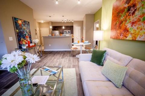 Haven on Peachwood Living Room