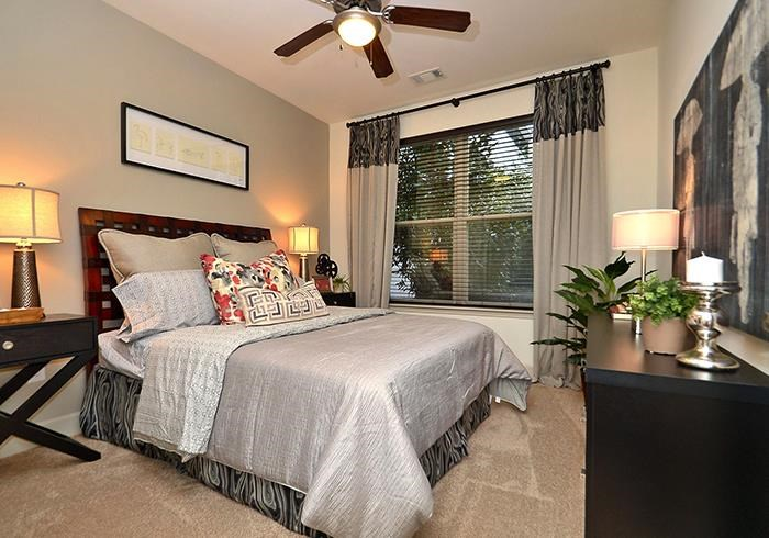 @1377 model bedroom with window view
