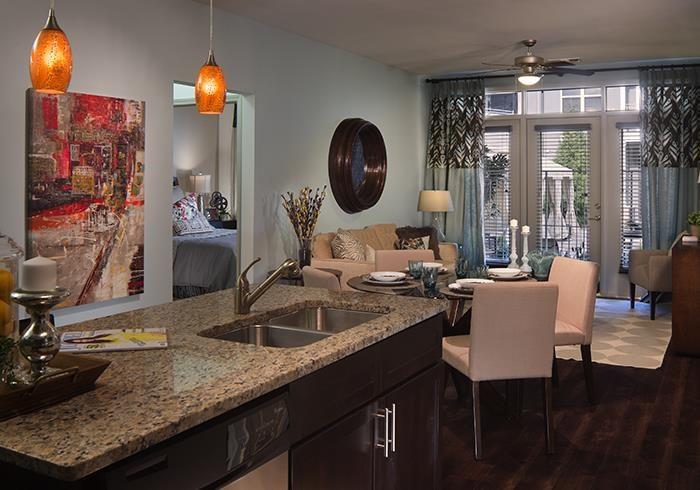 @1377 island into living room