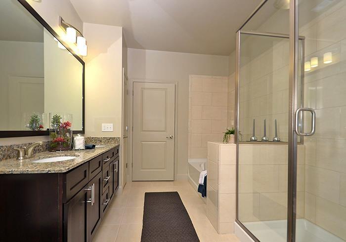 @1377 model bathroom with walk-in shower