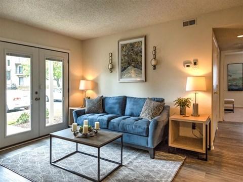 Village at Cliffdale model living room