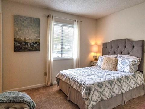 Village at Cliffdale model master bedroom
