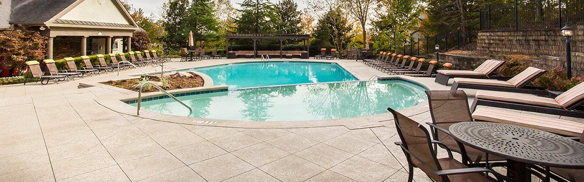 Resort Style Swimming Pool, at Preston Pointe at Windermere, Cumming, GA 30041