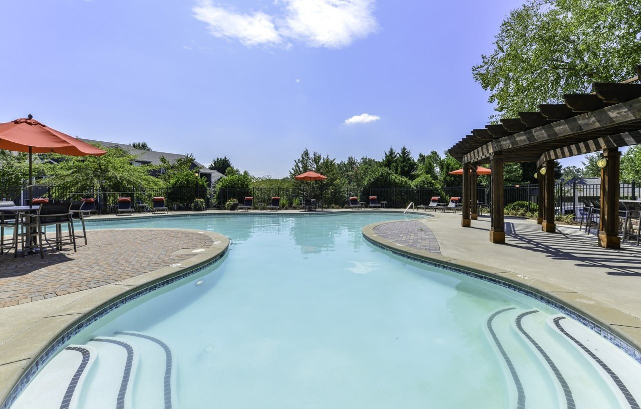 Resort Inspired Pool with Sundeck at Dawson Forest, Dawsonville